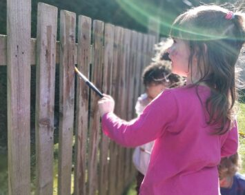 Making your marks on the fence